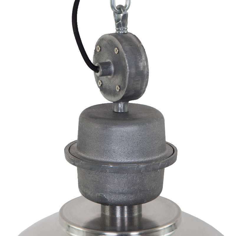AQ-PS7586 Industrial Ceiling Pendant Socket Assembly and Decorative Top