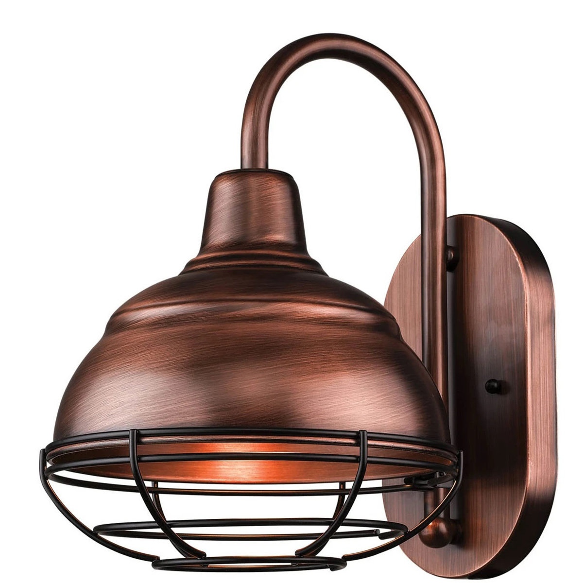 Natural Copper LED Wall Sconce