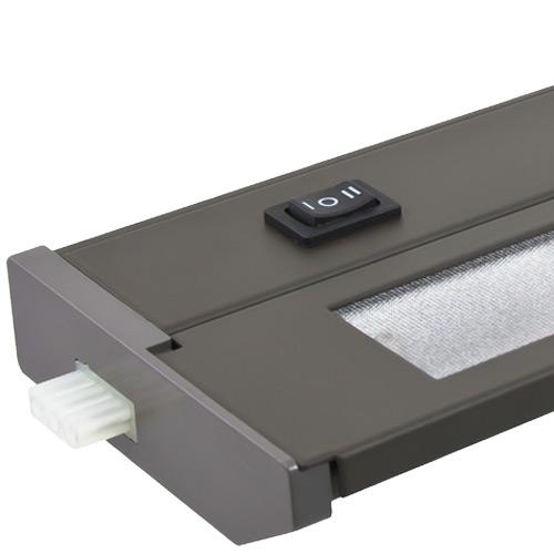 120v Xenon Linkable Under Cabinet Kitchen Light Bar Priori