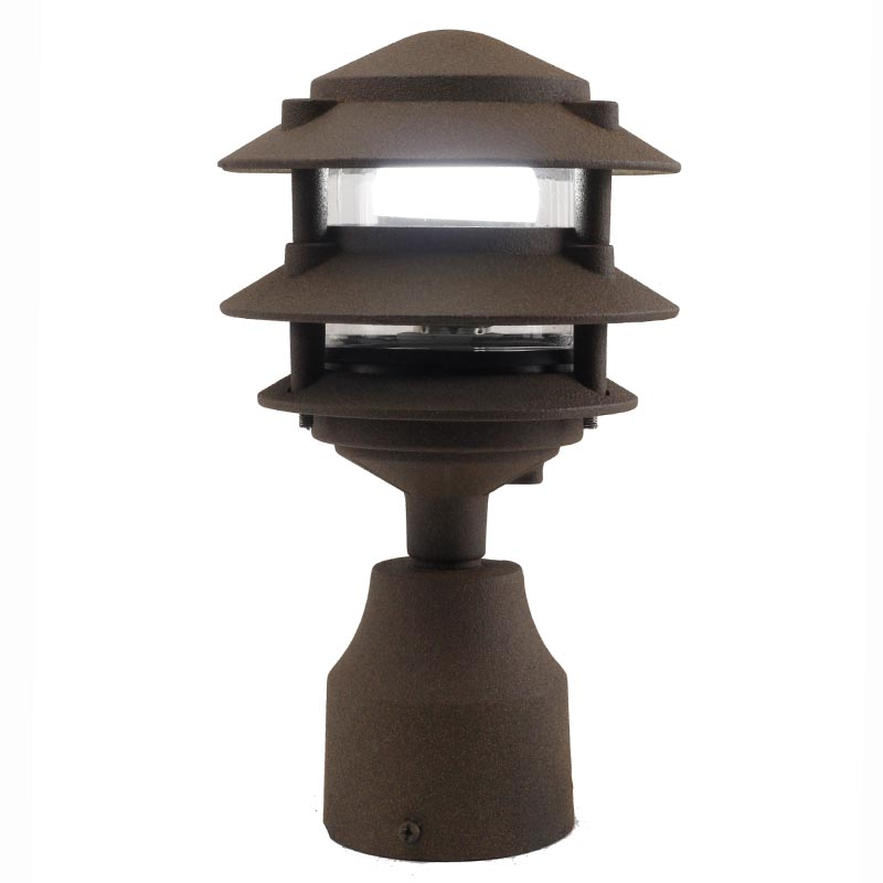 Led Light Fixture Nsn: 3 Tier Pagoda Pathway Post Light