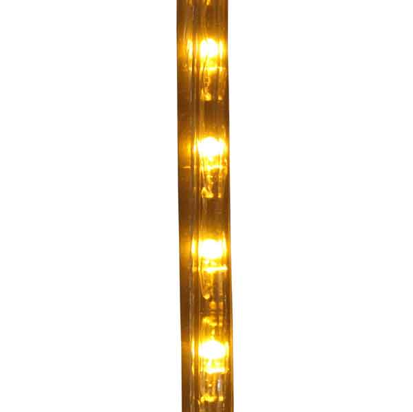 Dimmable led amber rope light 150ft spool aqlighting 513pro series amber led rope light output aloadofball Choice Image