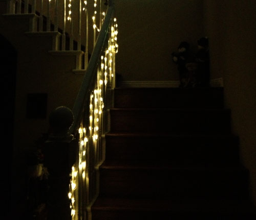 Lighting Stairs With Rope Light On
